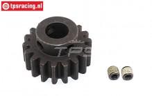 FG6431/01 Steel gear 16T wide Ø10-W12 mm, 1 pc.