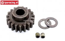 FG6432/02 Steel gear wide 19T Ø10-B12 mm, 1 pc.