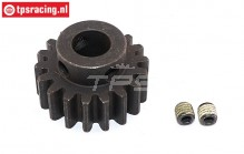 FG6432 Steel gear Wide 18T, 1 pc.