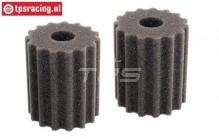FG6464/05 Air filter foam Pre-Oiled, 2 pcs.