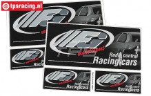 FG6572 FG Decals Black, Set