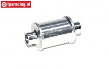 FG66253 Aluminium Idle belt pulley front, 1 pc.