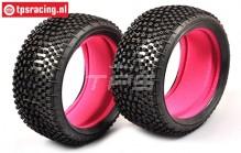 FG67218MI Styx Medium Tyres with foam, 2 pcs.