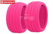 FG67224 HD Tyre Foam Ø130-Ø160-B60 mm, 2 pcs.