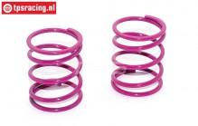 FG67314 Shock spring violet Ø2,6-L40 mm, 2 pcs.