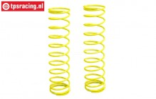 FG67316 Shock spring Yellow Ø2,6-L145 mm, 2 pcs.