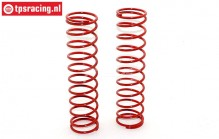 FG67317 Shock spring Red Ø3,0-L145 mm, 2 pcs.
