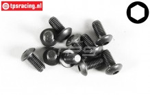 FG6735/12 Button Head Screw M5-L12 mm, 10 pcs