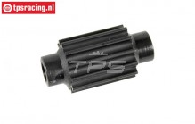 FG68252 Plastic toothed belt pulley 12T 4WD, 1 pc.