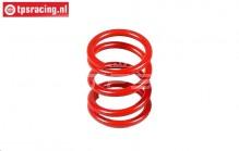 FG68325 Servo-saver spring Red, 1 st.
