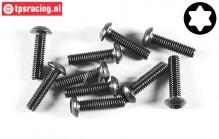 FG6925/16 Torx Socket Head screw M4-L16 mm, 10 pcs