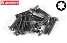 FG6926/20 Torx Button Head screw M5-L20 mm, 10 pcs.