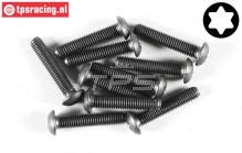 FG6926/25 Torx Button Head screw M5-L25 mm, 10 pcs.
