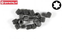 FG6928/03 Torx Grub screw M3-L3 mm, 15 pcs.