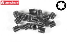 FG6930/06 Torx Grub screw M5-L6 mm, 15 pcs.