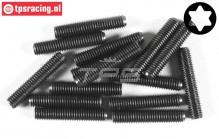 FG6930/25 Torx Grub screw M5-L25 mm, 15 pcs.