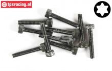 FG6931/30 Torx Socket head screw M3-L30 mm, 10 pcs.