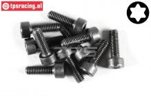 FG6932/12 Torx Socket head screw M4-L12 mm, 10 pcs.