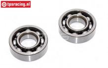 ZN0015 Zenoah Crank case bearing, 2 pcs