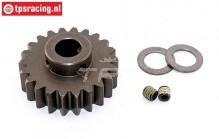 FG7432/22 Steel gear 22T wide Ø10-W12 mm, 1 pc