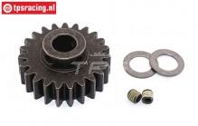 FG7432/23 Steel gear 23T Wide Ø10-W12 mm, 1 pc