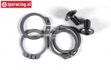 FG7467 Clip with axle screw FG 2-Speed, Set