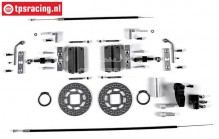 FG8452/05 Tuning cable brakes rear, 2WD/4WD, Set