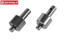 FG8459/01 Brake shaft Cable brakes, L/R, 2 pcs.