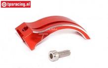 EBT6639R Aluminum Gas-brake lever Red Futaba 4PX-7PX