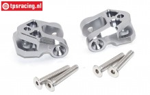 SB009-GS Lower suspension arm holder silver Super Baja-Rock Rey, Set