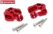 SB009R Lower suspension arm red Super Baja-Rock Rey, Set
