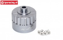 SB011-GS Differential housing silver Super Baja-Rock Rey, 1 st.