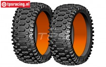 GW91-P3 GRP Cross P3 tires with foam, 2 pcs.