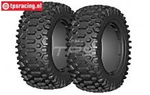 GW96-P3 GRP Cross P3 tires Ø120 mm, 2 pcs.