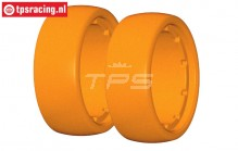GWF15X GRP tire foam soft Ø120-B60 mm, 2 pcs.