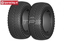 GW95-S5 GRP Micro S5 tires Ø120 mm, 2 pcs.