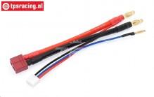 TPS0522 Silicone cable Gold, (L10 cm), 1 pc.