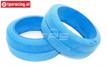 TPS2401 HQ Tyre Foam Bleu Ø120-B60 mm, 2 pcs