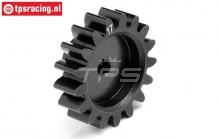HPI106606 Steel gear HD, 17T, 1 pc