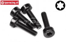 HPI15438 Torx Pan Head screw M5-L20 mm, 4 pcs.