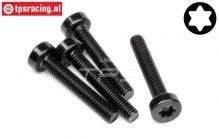 HPI15439 Torx Pan Head screw M5-L30 mm, 4 pcs.