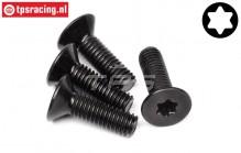 HPI15457 Torx Countersunk screw M6-L20 mm, 4 pcs