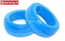 TPS2356 HQ Tyre Foam Bleu Ø120-Ø170-W65 mm, 2 pcs