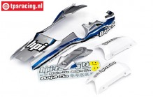 HPI7790 Body Painted, Bleu/Silver/White, Set