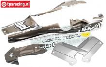 HPI7792 Body Painted Gun-Metal/Grey/Silver, Set