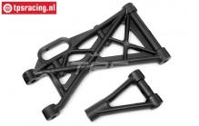 HPI85402 Rear Suspension arm, Set