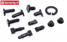 TPS85420/10 Mounting pins HPI-Rovan, Set