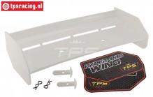 TPS85451/00 Nylon rear Wing White HPI-Rovan, Set