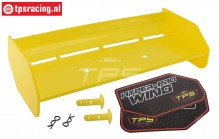 TPS85451/40 Nylon rear Wing Yellow HPI-Rovan, Set