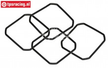 TPS86478 Differential gasket rubber HPI-ROVAN, 4 pcs